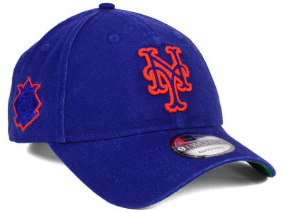 New York Mets New Era MLB Chain Stitch 9TWENTY Cap