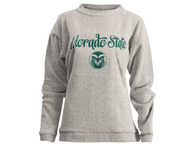 Colorado State Rams Pressbox NCAA Women's Comfy Terry Sweatshirt