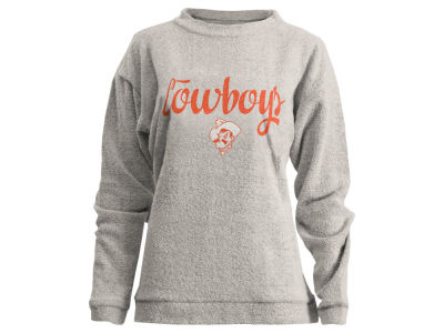 Oklahoma State Cowboys Pressbox NCAA Women's Comfy Terry Sweatshirt