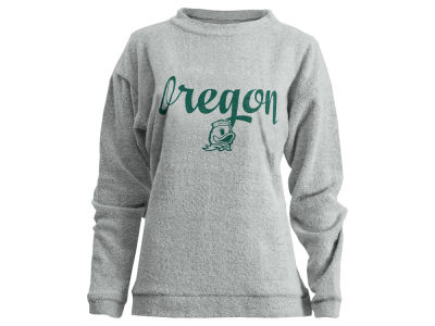 Oregon Ducks Pressbox NCAA Women's Comfy Terry Sweatshirt
