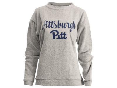 Pittsburgh Panthers Pressbox NCAA Women's Comfy Terry Sweatshirt
