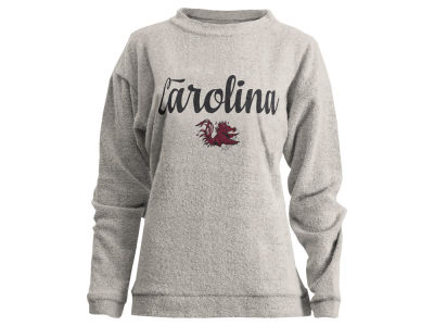 South Carolina Gamecocks Pressbox NCAA Women's Comfy Terry Sweatshirt
