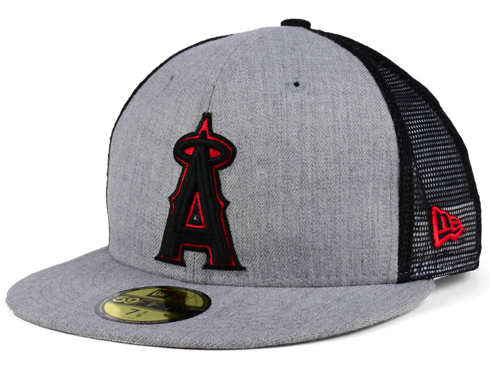 finest selection c6583 463c1 ... order los angeles angels new era mlb new school mesh 59fifty cap 40c0c  8b514