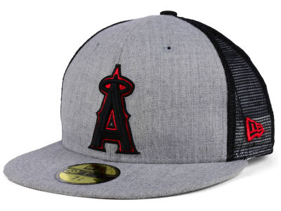 Los Angeles Angels New Era MLB New School Mesh 59FIFTY Cap