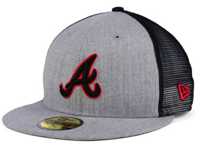 Atlanta Braves New Era MLB New School Mesh 59FIFTY Cap