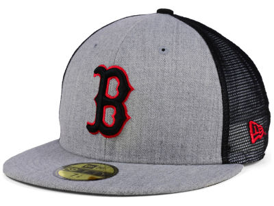 Boston Red Sox New Era MLB New School Mesh 59FIFTY Cap