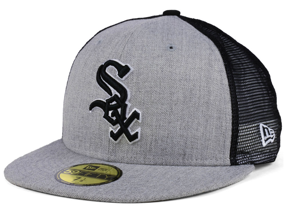 Chicago White Sox New Era MLB New School Mesh 59FIFTY Cap  4fbe6f15f0e7
