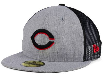 Cincinnati Reds New Era MLB New School Mesh 59FIFTY Cap