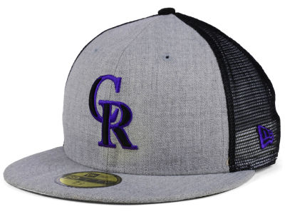 Colorado Rockies New Era MLB New School Mesh 59FIFTY Cap
