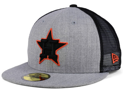 Houston Astros New Era MLB New School Mesh 59FIFTY Cap