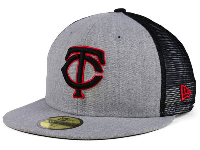 Minnesota Twins New Era MLB New School Mesh 59FIFTY Cap