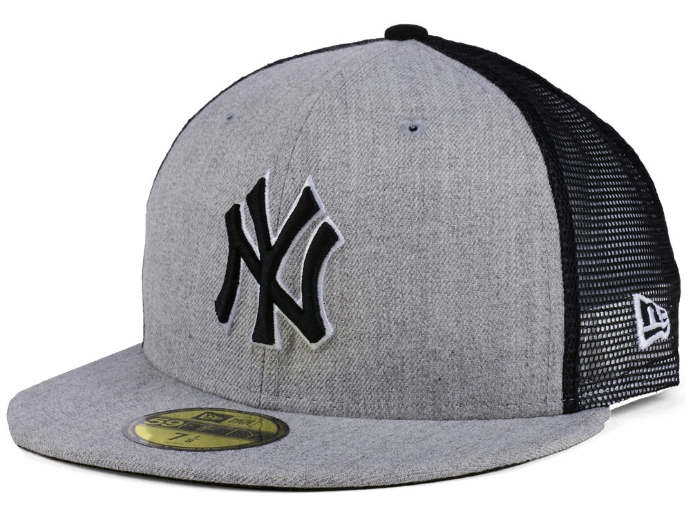 New York Yankees New Era MLB New School Mesh 59FIFTY Cap  bf9ab79343b