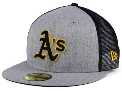 Oakland Athletics New Era MLB New School Mesh 59FIFTY Cap