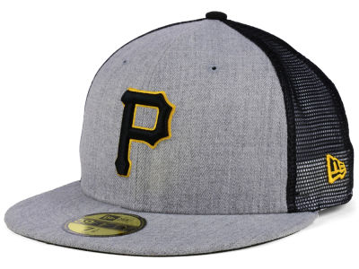 Pittsburgh Pirates New Era MLB New School Mesh 59FIFTY Cap