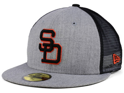 San Diego Padres New Era MLB New School Mesh 59FIFTY Cap