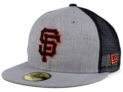 San Francisco Giants New Era MLB New School Mesh 59FIFTY Cap