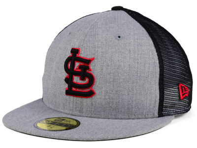 St. Louis Cardinals New Era MLB New School Mesh 59FIFTY Cap