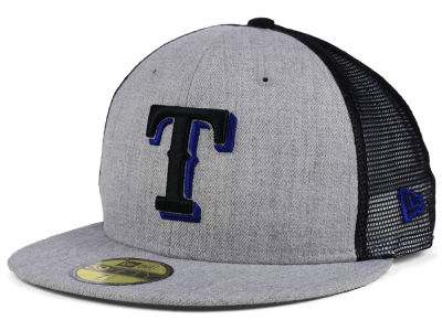 Texas Rangers New Era MLB New School Mesh 59FIFTY Cap