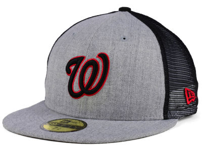 Washington Nationals New Era MLB New School Mesh 59FIFTY Cap