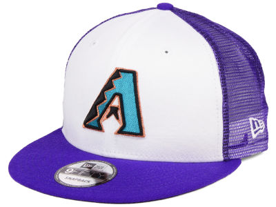 Arizona Diamondbacks New Era MLB Old School Mesh 9FIFTY Snapback Cap