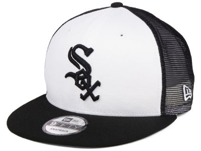Chicago White Sox New Era MLB Old School Mesh 9FIFTY Snapback Cap