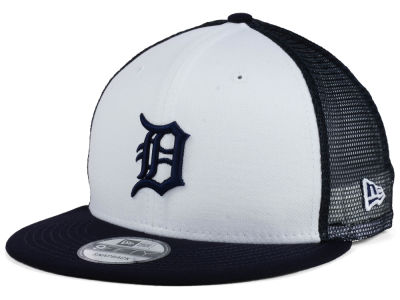 Detroit Tigers New Era MLB Old School Mesh 9FIFTY Snapback Cap