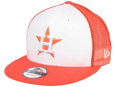 Houston Astros New Era MLB Old School Mesh 9FIFTY Snapback Cap