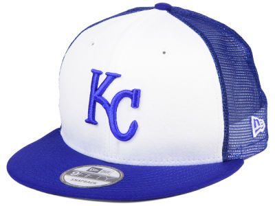 Kansas City Royals New Era MLB Old School Mesh 9FIFTY Snapback Cap