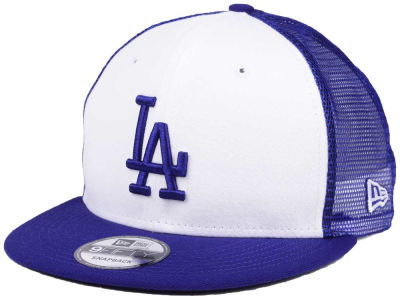 Los Angeles Dodgers New Era MLB Old School Mesh 9FIFTY Snapback Cap