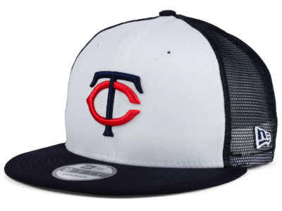 Minnesota Twins New Era MLB Old School Mesh 9FIFTY Snapback Cap