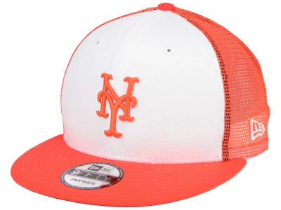 New York Mets New Era MLB Old School Mesh 9FIFTY Snapback Cap