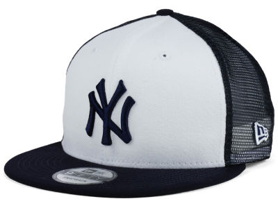 New York Yankees New Era MLB Old School Mesh 9FIFTY Snapback Cap