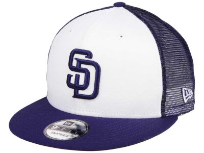 San Diego Padres New Era MLB Old School Mesh 9FIFTY Snapback Cap