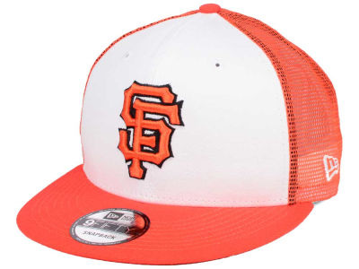 San Francisco Giants New Era MLB Old School Mesh 9FIFTY Snapback Cap