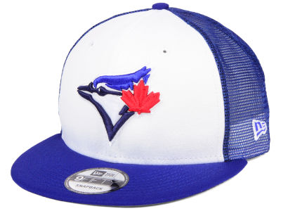 Toronto Blue Jays New Era MLB Old School Mesh 9FIFTY Snapback Cap