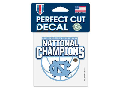 North Carolina Tar Heels 4x4 Decal - Event
