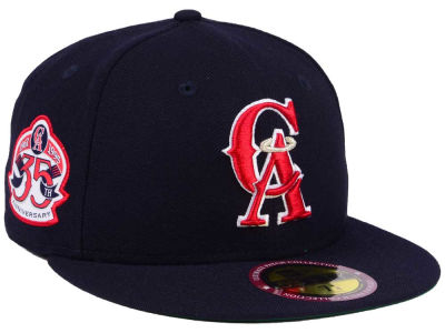 Los Angeles Angels New Era MLB Ultimate Patch Collection Anniversary 59FIFTY Cap