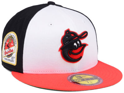 Baltimore Orioles New Era MLB Ultimate Patch Collection Anniversary 59FIFTY Cap
