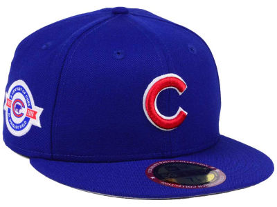 Chicago Cubs New Era MLB Ultimate Patch Collection Anniversary 59FIFTY Cap