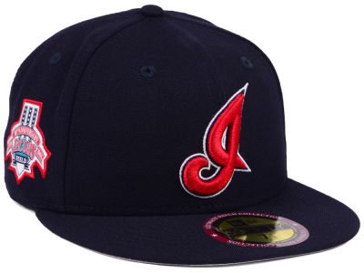 Cleveland Indians New Era MLB Ultimate Patch Collection Anniversary 59FIFTY Cap