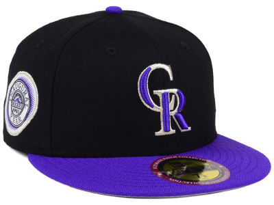 Colorado Rockies New Era MLB Ultimate Patch Collection Anniversary 59FIFTY Cap