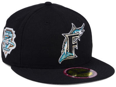 Florida Marlins New Era MLB Ultimate Patch Collection Anniversary 59FIFTY Cap