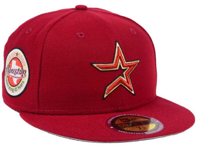 Houston Astros New Era MLB Ultimate Patch Collection Anniversary 59FIFTY Cap