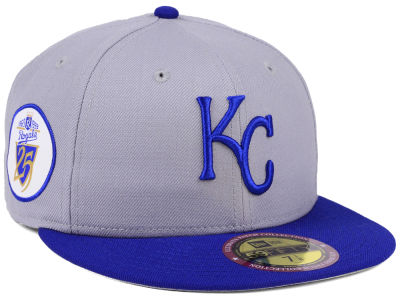 Kansas City Royals New Era MLB Ultimate Patch Collection Anniversary 59FIFTY Cap