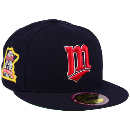 Minnesota Twins New Era MLB Ultimate Patch Collection Anniversary 59FIFTY Cap