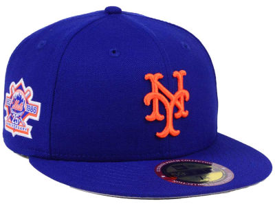 New York Mets New Era MLB Ultimate Patch Collection Anniversary 59FIFTY Cap