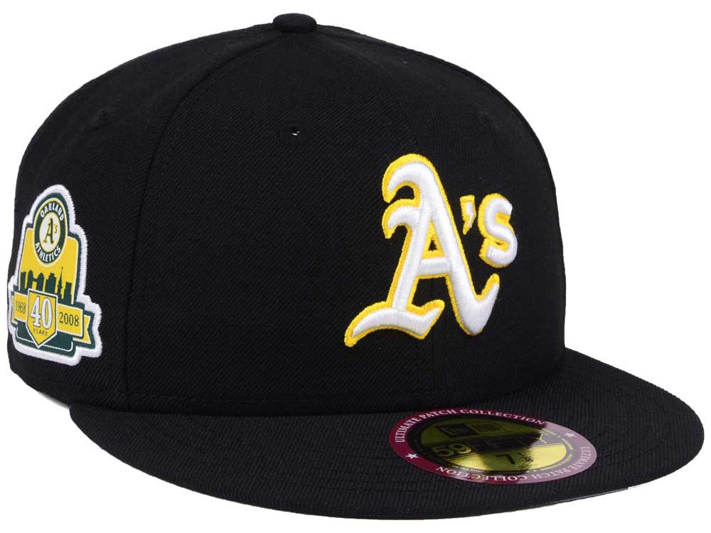 Oakland Athletics New Era MLB Ultimate Patch Collection Anniversary 59FIFTY  Cap  9590c7422d1