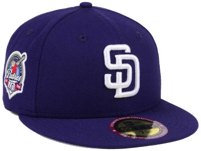 San Diego Padres New Era MLB Ultimate Patch Collection Anniversary 59FIFTY Cap