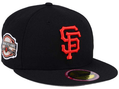 San Francisco Giants New Era MLB Ultimate Patch Collection Anniversary 59FIFTY Cap