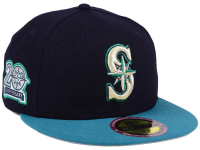 Seattle Mariners New Era MLB Ultimate Patch Collection Anniversary 59FIFTY Cap